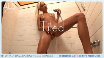 Nude girl with eels